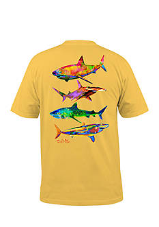 Salt Life Psycho Shark Short Sleeve Graphic Pocket Tee