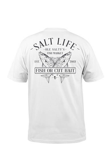 Salt Life Ole Salty's Short Sleeve Graphic Pcoket Tee