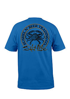 Salt Life Short Sleeve Bushel and Beer Graphic Tee