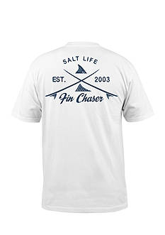 Salt Life Short Sleeve Fin Chaser Shirt