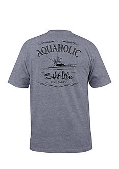 Salt Life Short Sleeve Aquaholic Graphic Tee
