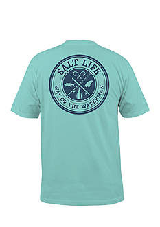 Salt Life Way Of The Wayerman Short Sleeve Graphic Tee