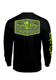 Salt Life Long Sleeve At Ease Graphic Tee