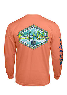 Salt Life Long Sleeve Mahi Peak Graphic Tee