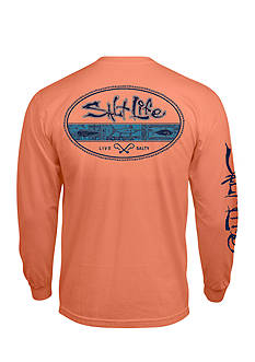 Salt Life Long Sleeve Tahitian Seal Graphic Tee