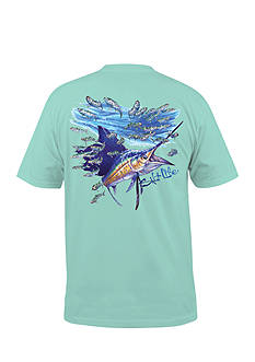 Salt Life Slashing Sail Short Sleeve Graphic Tee