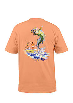 Salt Life Short Sleeve Marquesas Sunrise Graphic Tee