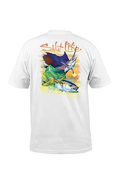 Salt Life Short Sleeve Sunset Slam Graphic Tee