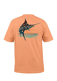 Salt Life Short Sleeve Marlin Paradise Graphic Tee