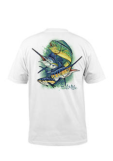 Salt Life Sea Slam Short Sleeve Graphic Pocket Tee