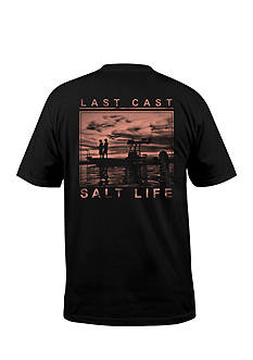 Salt Life Last Cast Short Sleeve Graphic Tee