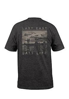 Salt Life Last Cast Short Sleeve Graphic Tee