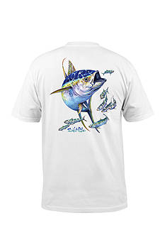 Salt Life Short Sleeve Yellow Fin Graphic Tee