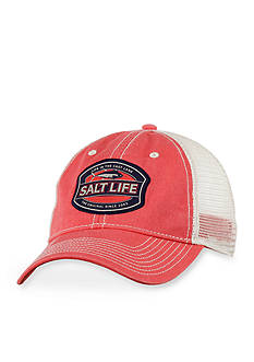 Salt Life Life in the Cast Lane Graphic Hat