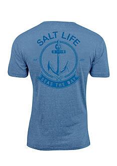 Salt Life Seas The Day Short Sleeve Graphic Tee