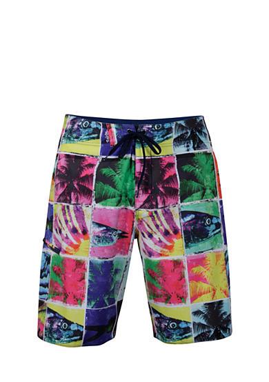 Salt life trippy fish board shorts for Fishing board shorts