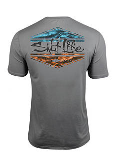 Salt Life Scheme SLX Performance Short Sleeve Graphic Pocket Tee