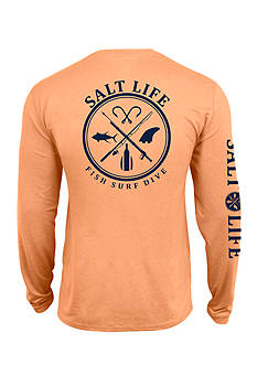 Salt Life Aquashield SLX UVapor Long Sleeve Pocket Tee