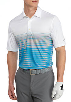 Greg Norman® Collection Classic-Fit Tidal Wave Print Polo Shirt