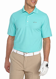 Greg Norman Collection Short Sleeve Pro Tek Micro Polo Shirt