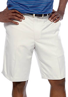 Greg Norman® Collection Flat-Front Microfiber Shorts