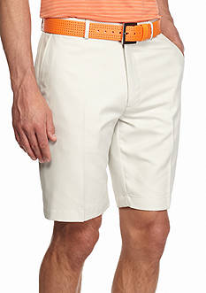 Greg Norman® Collection 8-in. Flat Front Microfiber Shorts