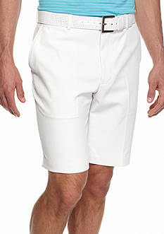 Greg Norman® Collection 8-in. Solid Flat Front Shorts