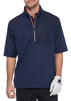 Greg Norman Collection Weather Knit Half Sleeve Jacket