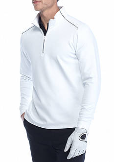 Greg Norman Collection Long Sleeve Weather Knit 1/4 Zip