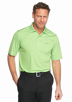 Greg Norman® Collection Short Sleeve Solid Textured Polo Shirt