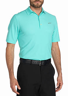 Greg Norman Collection Short Sleeve Pique Polo Shirt
