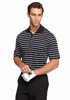 Greg Norman Collection Protek Microlux Stripe Polo Shirt
