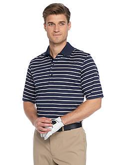 Greg Norman Collection Protek Microlux Stripe Polo Shirt