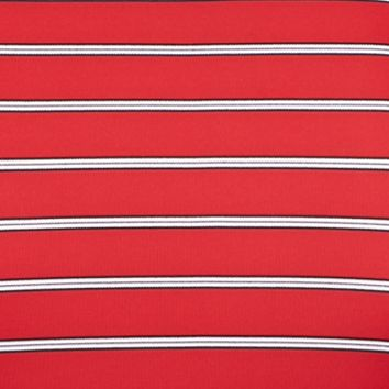 Greg Norman Collection Men Sale: British Red Greg Norman Collection Protek Microlux Stripe Polo Shirt