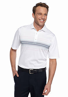 Greg Norman® Collection Engineered Stripe Polo Shirt