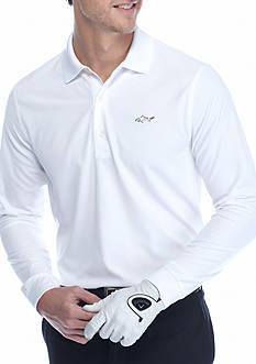 Greg Norman Collection Horizon Long Sleeve Polo