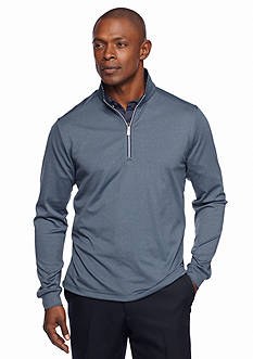 Greg Norman® Collection Heathered Stripe Pullover Polo Shirt