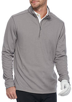 Greg Norman Collection Zip Sweater with Textured Detail