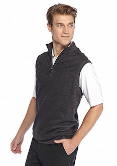 Greg Norman® Collection Contemporary Quarter Zip Vest