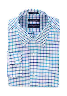Saddlebred Classic-Fit Long Sleeve Oxford Easy Care Dress Shirt