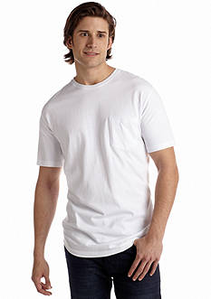 Saddlebred® Big & Tall Basic Pocket Tee