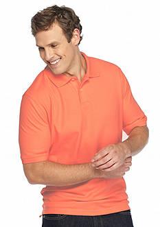 Saddlebred Big & Tall Short Sleeve Pique Polo Shirt