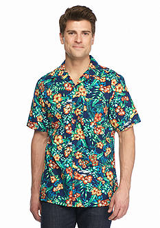 Saddlebred® Big & Tall Short Sleeve Printed Woven Shirt