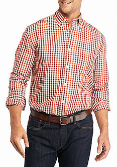 Saddlebred Big & Tall Long Sleeve Easy Care Gingham Shirt