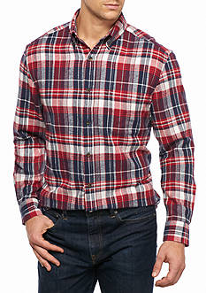 Saddlebred Big & Tall Long Sleeve Flannel Shirt