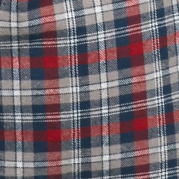Big & Tall: Flannel Sale: Gray/Navy/Red Saddlebred Big & Tall Long Sleeve Flannel Shirt