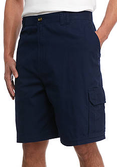 Saddlebred Big & Tall Utility Elastic Waist Shorts