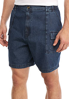 Saddlebred® Big & Tall Denim Hiker Short
