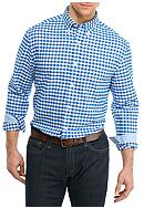 Saddlebred® Big & Tall Long Sleeve Gingham