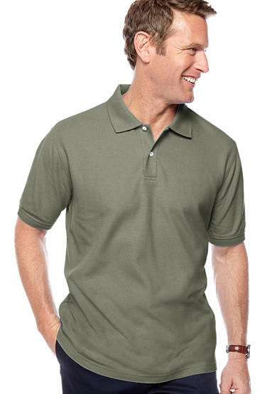 Saddlebred® Solid Pique Polo
